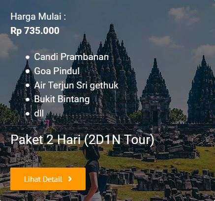 2D1N Tour Jogja