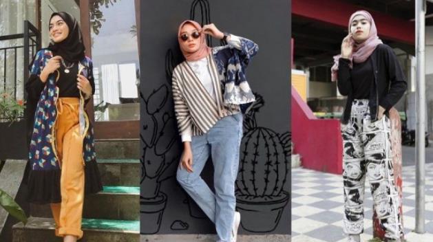 Mix And Match Baju Hijab Casual